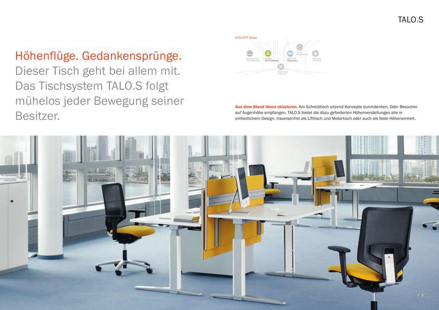 TALO.S Büromöbel von König + Neurath