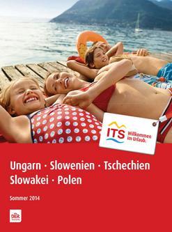Ungarn, Polen, Slowakei, Tschechien, Slowenien Sommer 2014