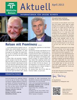 Aktuell - Ausgabe 02/2013