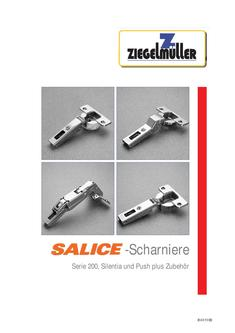 Salice-Scharniere und Klappenbeschläge