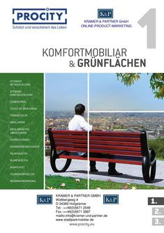 Procity 1 - Komfortmobiliar & Grünflächen 2014