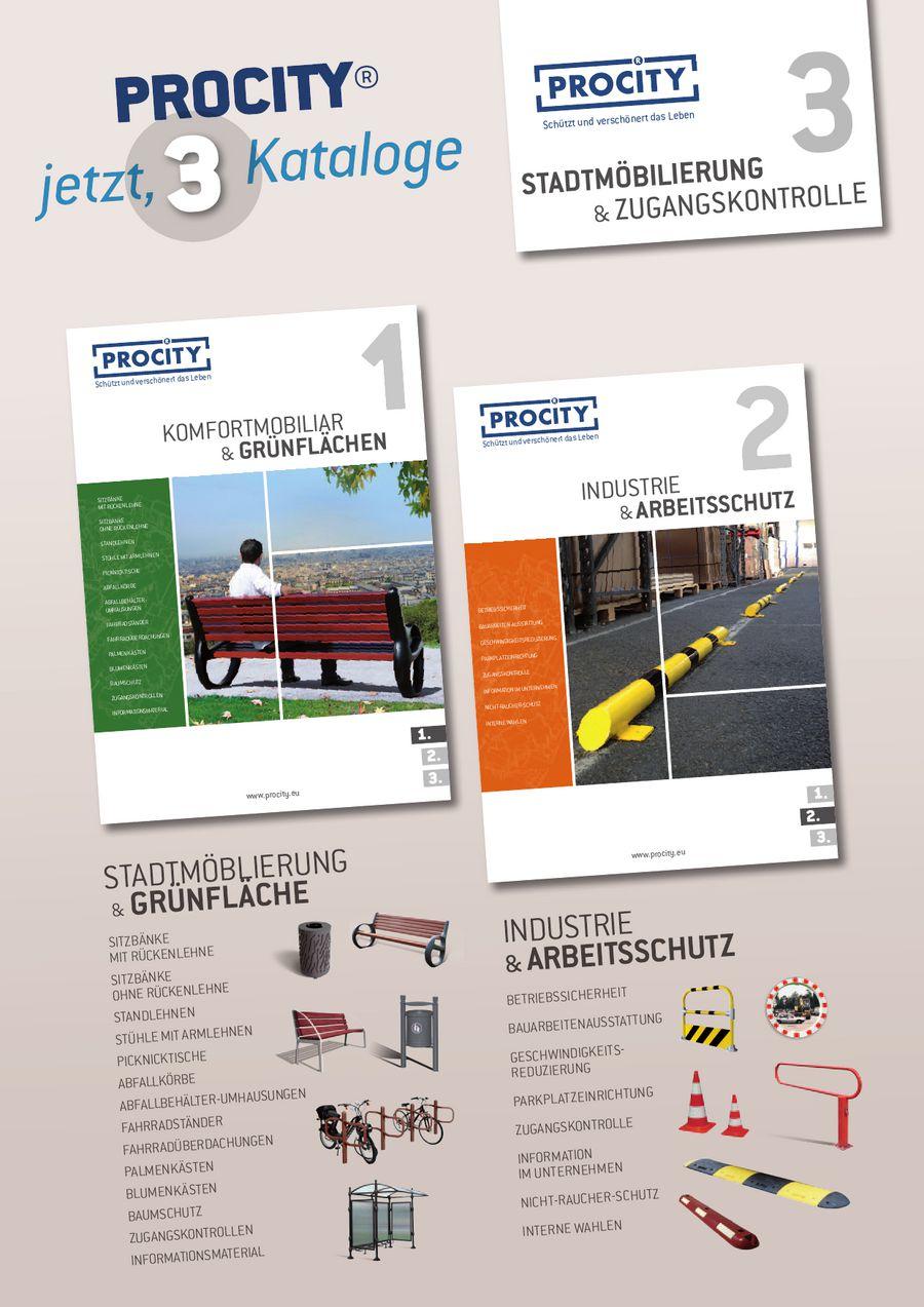 Procity 3 - Stadtmöblierung & Zugangskontrollen 2014 von Kramer ...
