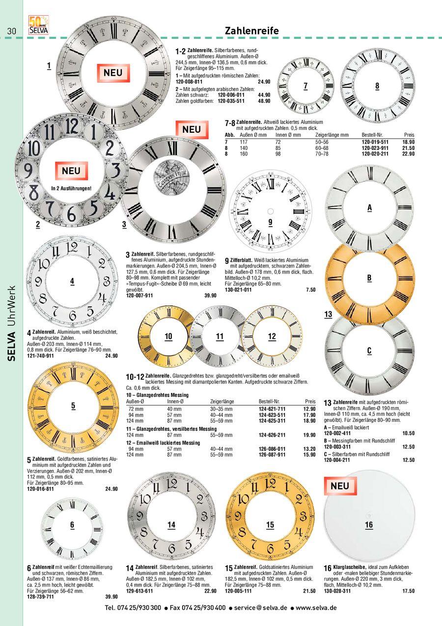 Seite 30 Von Uhren Uhrenteile 2011
