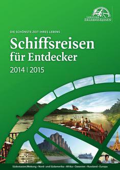 Schiffreisen für Entdecker 2014/2015