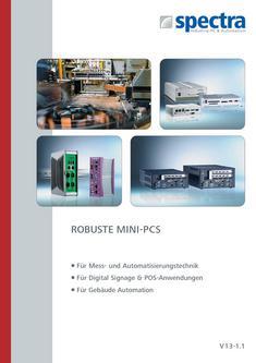 Mini-PCs: Spectra PowerBox-, NISE-Serie, Hutschienen-PCs