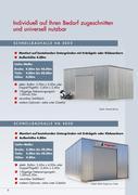 schnellbauhallen und schnellbaucontainer von hacobau. Black Bedroom Furniture Sets. Home Design Ideas
