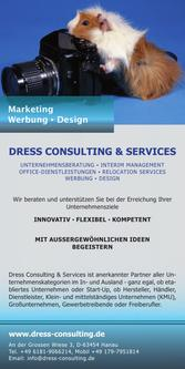 Marketing Werbung Design