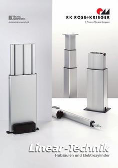 Hubsäulen und Elektrozylinder (Linear-Technik)