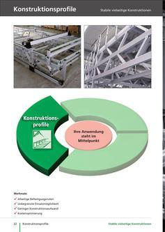 Konstruktionsprofile aus Aluminium, BLOCAN Profilsystem