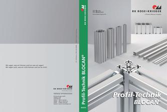 Profilsystem aus Aluminium, BLOCAN Profil-Technik