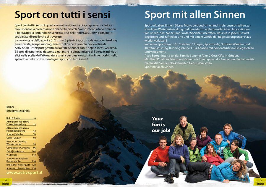 Klettergurt Set Intersport : Sommer sport handbuch von activ intersport selva