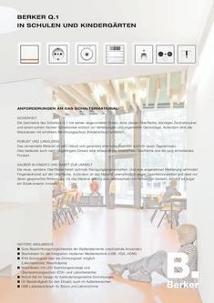 Q.1 für Schulen und Kindergärten 2013