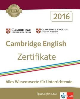 Cambridge English Zertifikate 2016