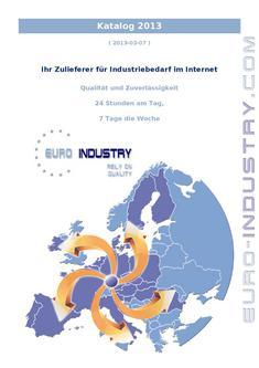 Industriebedarf 2013