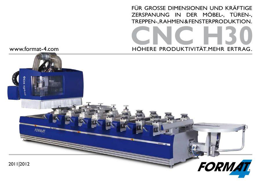 Format-4 CNC profit H30 von Neureiter Maschinen und Werkzeuge