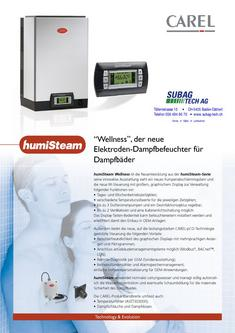 humiSteam Luftbefeuchter Wellness