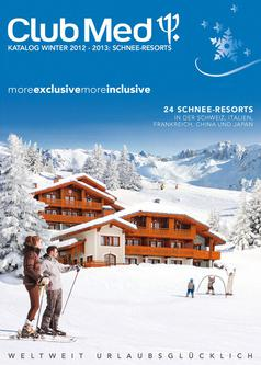 Schnee-Resorts Winterkatalog 2012/2013