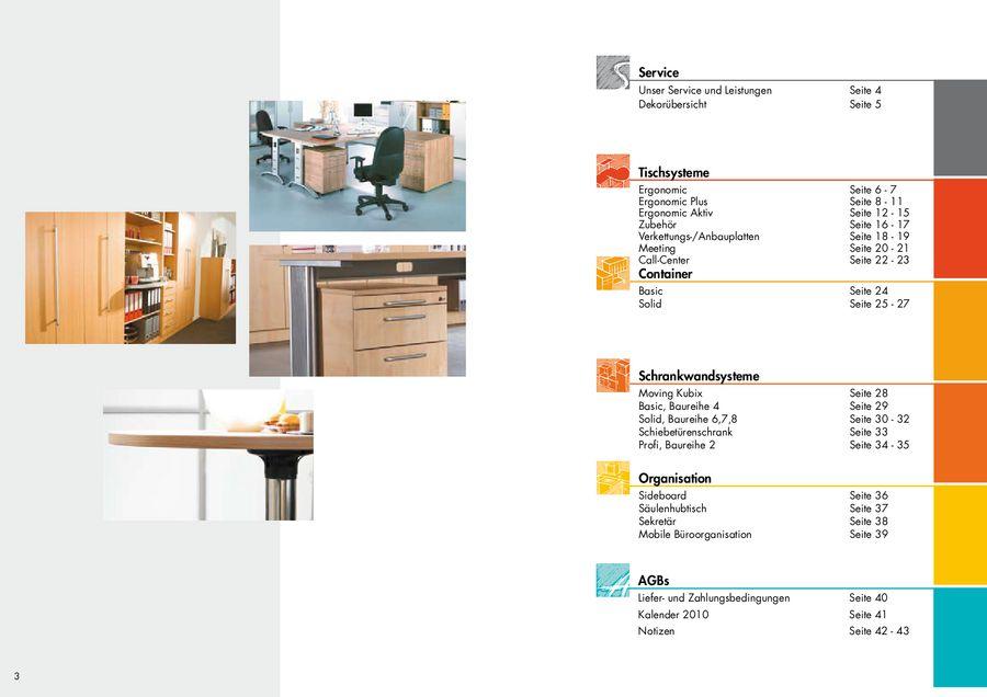 Hammerbacher Büromöbel 2010 von Büromöbel-Experte