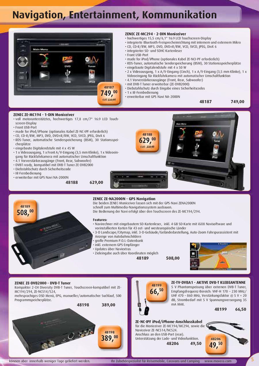 Multimedia-Flyer 03/2011 (schweizer Version) von Movera