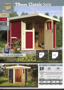 massivholz haus in karibu gartenh user 2012 von holzland. Black Bedroom Furniture Sets. Home Design Ideas