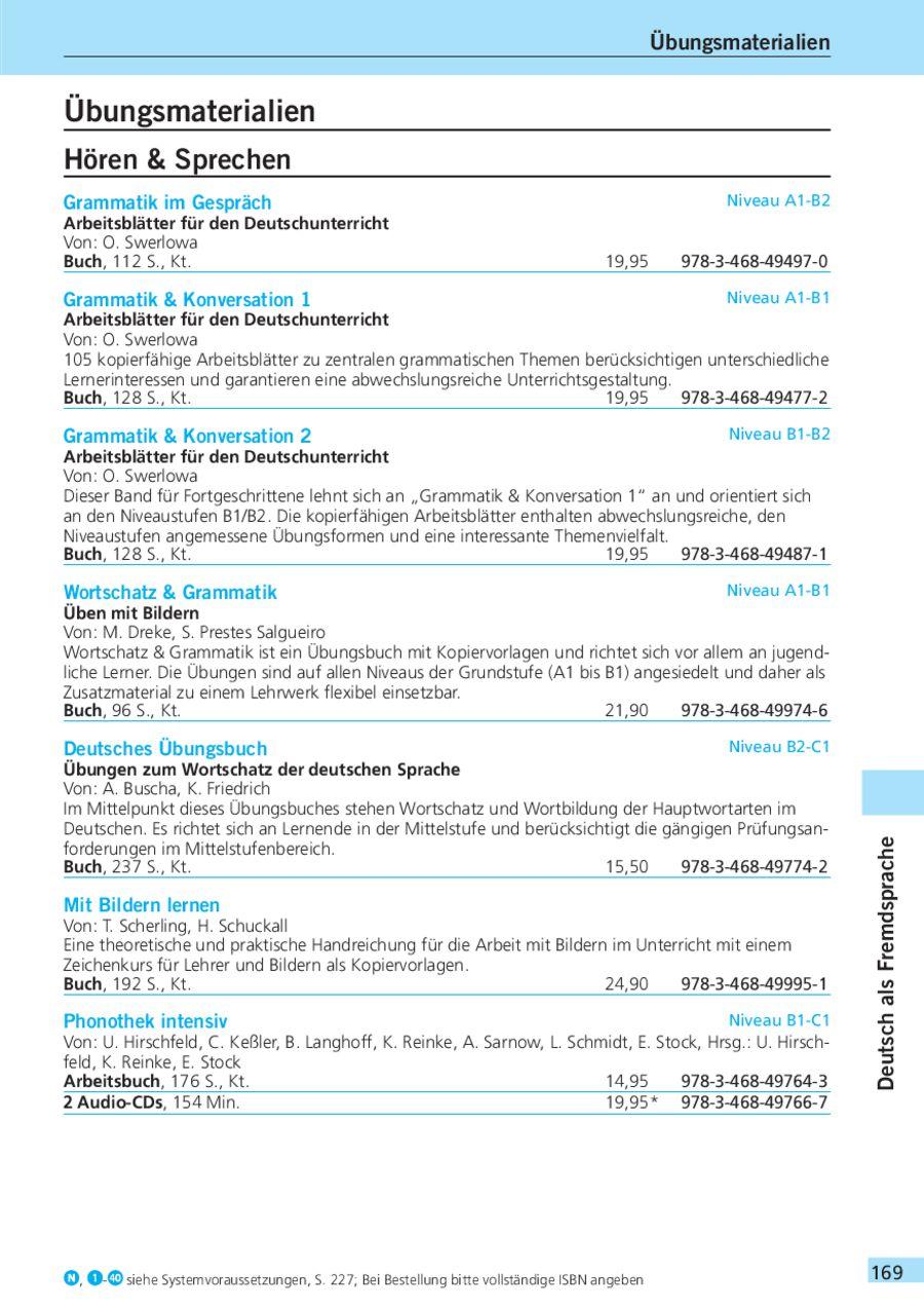 Seite 168 Von Gesamtkatalog 2010
