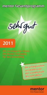 mentor Gesamtprogramm 2011