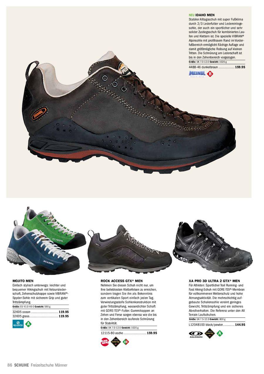 Schuhe für Trekking, Hiking, Wandern, Reise, Sandalen 2012