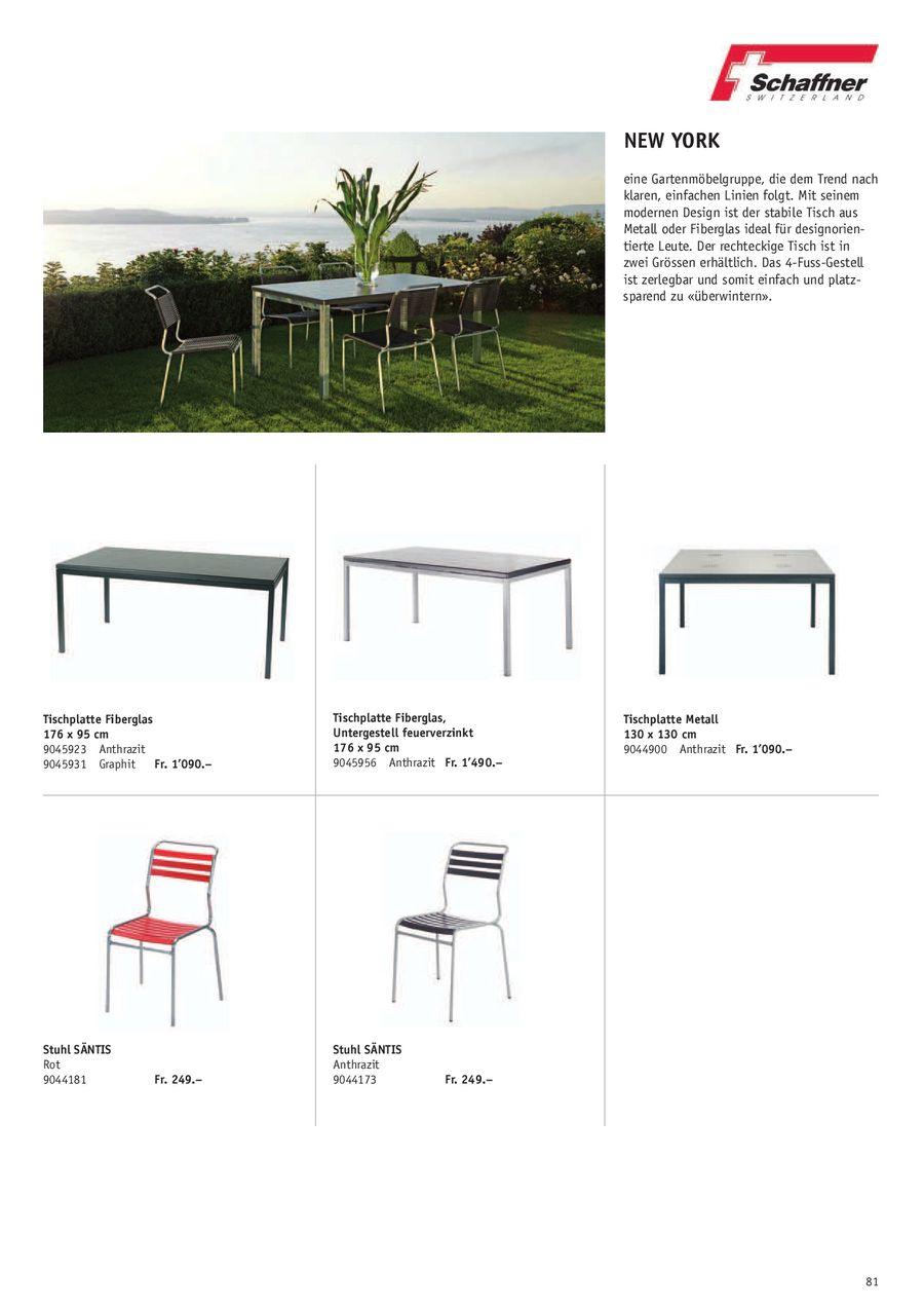 Seite 7 von Schaffner Gartenmöbel 2010