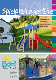 Bowi Spielplatzgeräte 2014