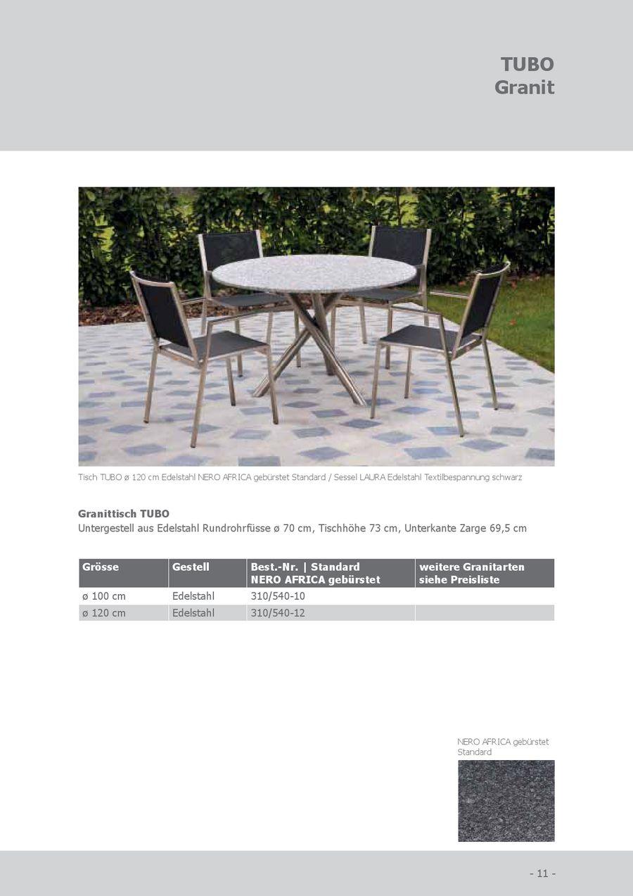 Seite 8 von SIT Granit Gartenmöbel 2012