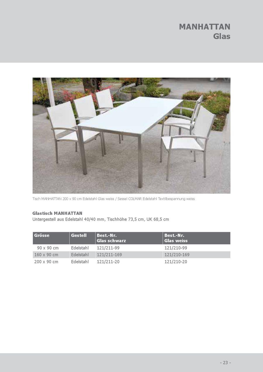 Seite 20 von SIT Granit Gartenmöbel 2012