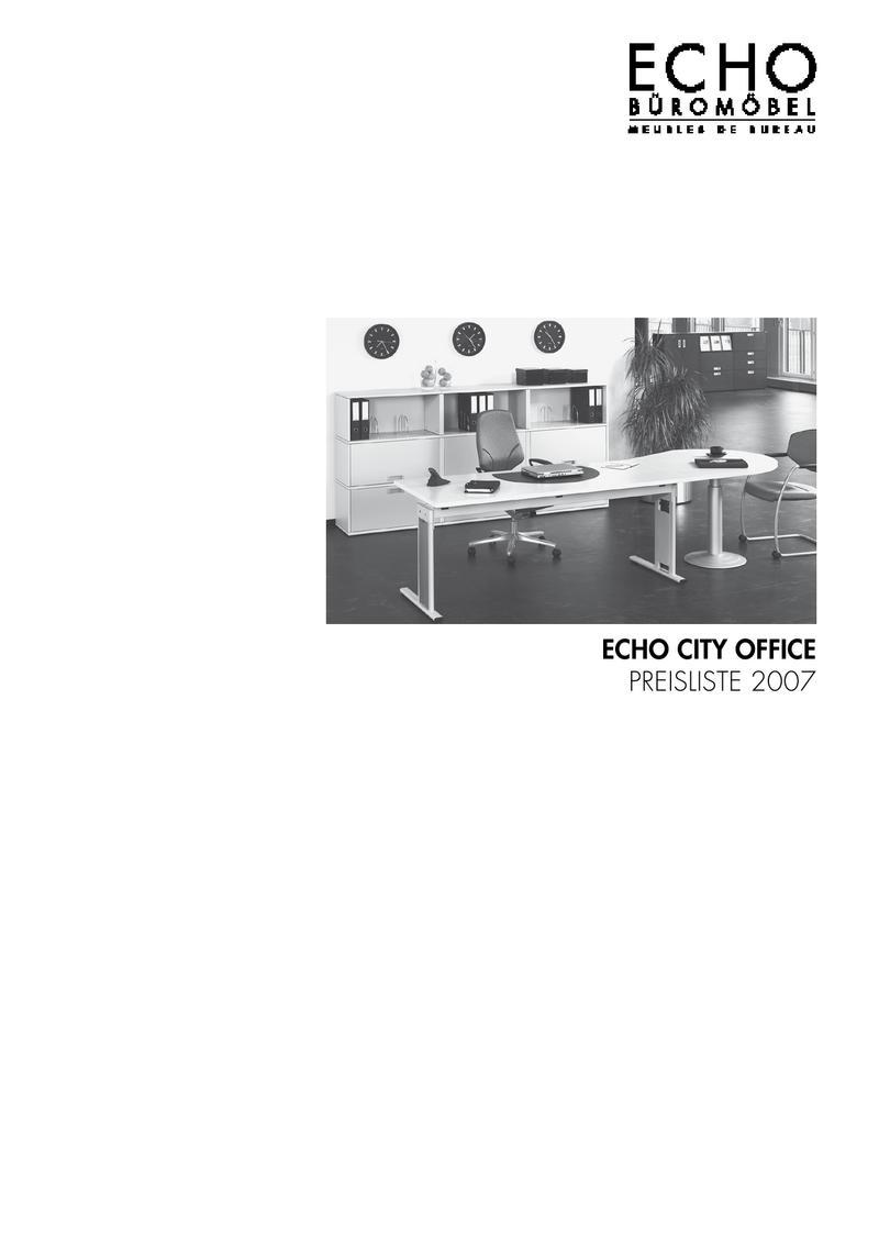 Preisliste Echo City Office - gültig ab Februar 2007 von Echo ...