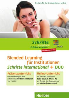 Schritte international - Blended Learning für Institutionen