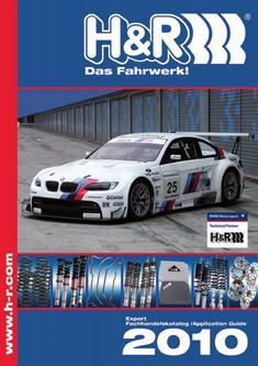 H&R Fahrwerkskatalog 2010