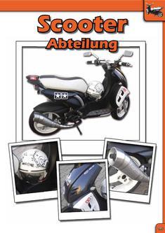 Scooter Abteilung - LeoVince Auspuffanlagen 2010/2011