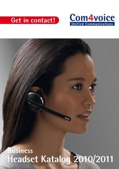 Business Headset 2010/2011
