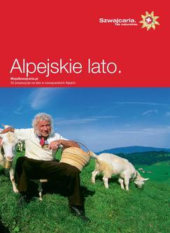 Alpejskie lato (Polnisch)