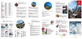 Swiss Travel Map 2014 (Niederländisch)