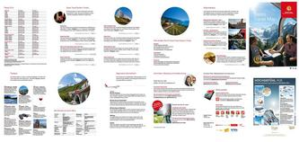 Swiss Travel Map 2014