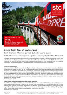 Grand Train Tour Switzerland 2015