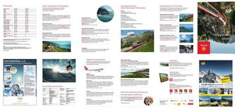 Swiss Travel Map 2016