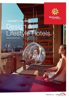 Design & Lifestyle Hotels (Schweiz) 2016
