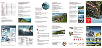 Swiss Travel Map 2016 (Italienisch)