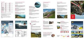 Swiss Travel Map 2016 (Portugiesisch)