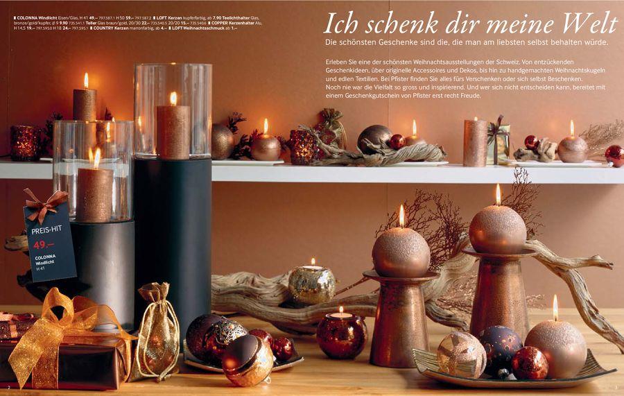 Die Schönsten Geschenkideen Weihnachten 2008 Von Möbel Pfister Ag
