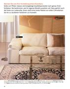 m bel pfister sofa in collection 2010 von m bel pfister ag. Black Bedroom Furniture Sets. Home Design Ideas