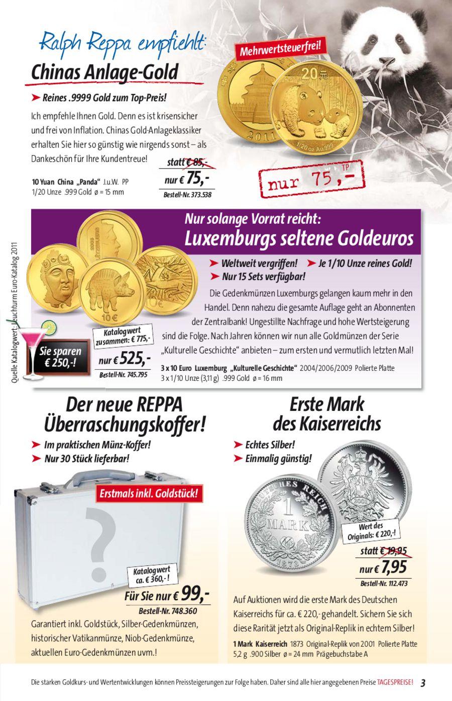 Münzen Sommer 2011 Von Reppa