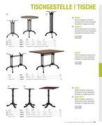 tischgestell gusseisen in m bel f r gastronomie hotellerie und gewerbe 2012 2013 von m24. Black Bedroom Furniture Sets. Home Design Ideas