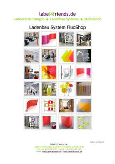 Katalog: label4friends.de  Ladeneinrichtung FluoShop