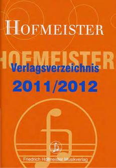 Verlagsverzeichnis 2011/2012